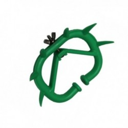 Zábrana mulcová, velikost M, zelená