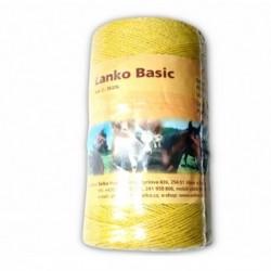 Lanko BASIC pro el. ohradník, 2 mm x 400 m, 3x Ni 0,15 mm, žlutá