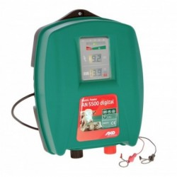 Zdroj bateriový AKO Mobil Power digital, pro elektrický ohradník