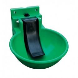 Napáječka misková plastová, zelená, zamykatelná, pro skot a koně