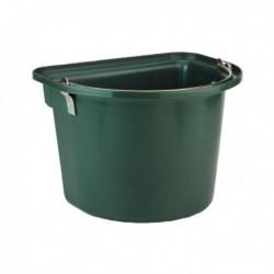 Závěsný kbelík na krmivo 12l, zelený