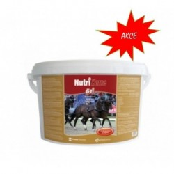 Nutri Horse Gel plv  3kg,s želatinou - SLEVA