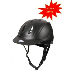 Jezdecká helma TecAIR, černá, velikost L