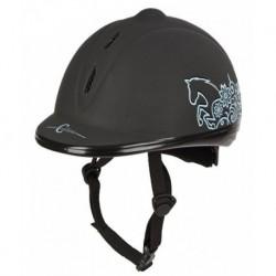 Helma jezdecká Beauty VG1, černá