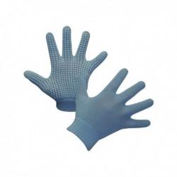 Rukavice jezdecké Magic Grippy, dětské, modré