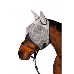 Maska proti hmyzu s ušima, teplokrevník, šedá
