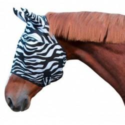 Maska proti hmyzu s ušima, teplokrevník, zebra