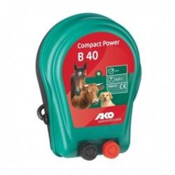 Zdroj bateriový Compact Power B 40 pro elektrické ohradníky a sítě