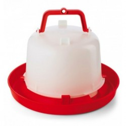 Napáječka pro drůbež plastová klobouková, 5 l, bajonet