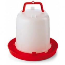 Napáječka pro drůbež plastová klobouková, 10 l, bajonet