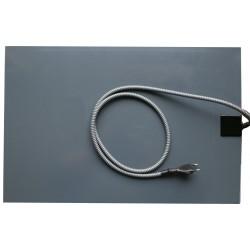 Výhřevná deska pro psy, podlážka 40 x 60 cm, 230 V / 20 W, PVC