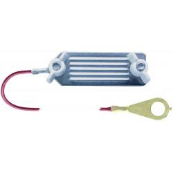 Kabel propojovací pro el. ohradníky - zdroj/páska, 130 cm