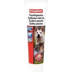 Zubní pasta BEAPHAR pro psy a kočky, játrová, 100g