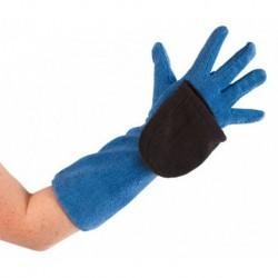 Kerbl rukavice čistící pro psy, z mikrovlákna