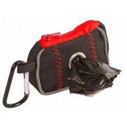 Kerbl pouzdro na sáčky na psí trus s karabinou, textilní