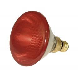 Infražárovka úsporná PAR38, červená