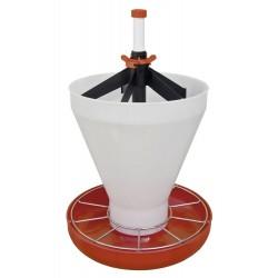 Miska krmná pro selata Maxi-click s násypkou / MAXI HOPPER PAN
