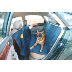 Deka pro psa do auta, s cestovní lahví na pití