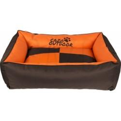 CAZO Pelíšek venkovní pro psy a kočky Outdoor Maxy, oranžovo-hnědý