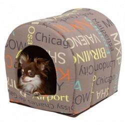 Kukaň CITY pro psy, látková bouda