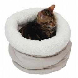 Pelíšek pro kočky hnízdo průměr 30x40cm