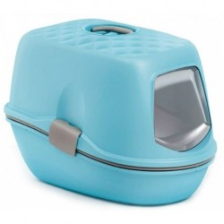 Toaleta pro kočky - kočičí WC Furba Top Chic - modrá