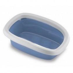 Toaleta pro kočky Sprint 10 - kočičí WC, 31 x 43 x 14 cm, pastelově modrá