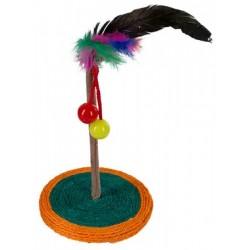 Hračka pro kočky - palmový strom, s catnipem, 33 cm