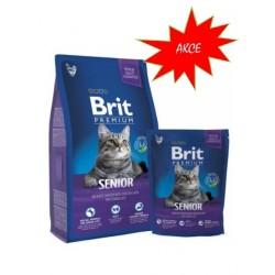 BRIT Premium Cat Senior 1,5kg - NEW - SLEVA