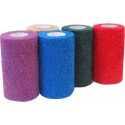 Obvaz samolepící Flexi, 5 cm, fialový