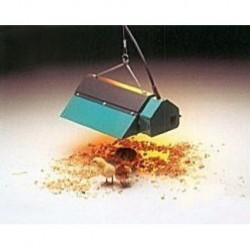 Zářič tepelný Z500, 500 W, lakovaný, se světlem