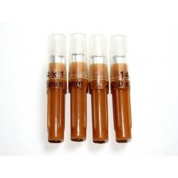 Jehly injekční Sharpex sterilní, 2 x 25 mm