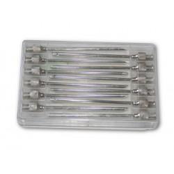 Jehly injekční Sharpvet, 2 x 50  mm, 12 ks