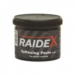 Barva tetovací RAIDEX, 600 g, zelená na zvířata