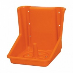 Držák na liz hranatý, 18,5 x 19 cm, oranžový