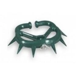 Zábrana mulcová střední, zelená