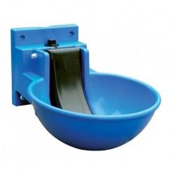 Napáječka misková plastová, modrá, zamykatelná, pro skot a koně