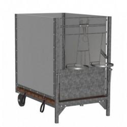 Box pro telata 160 x 100 cm