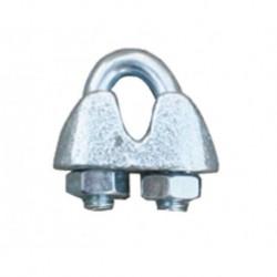 Spojka na lanko pro elektrický ohradník, pozinkovaná, 8-10 mm
