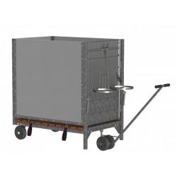 Mechanizmus transportní na box pro telata malý i velký