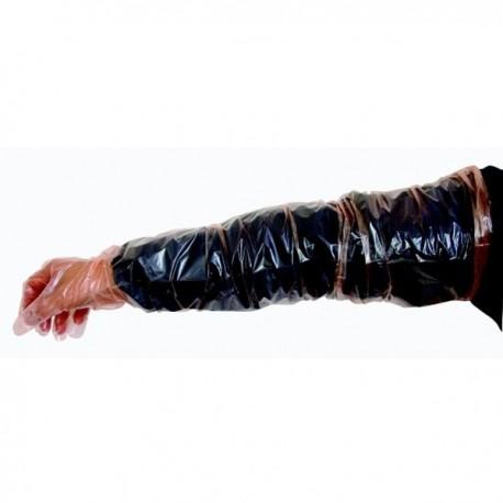 Rukavice veterinární inseminační pro skot, 92 cm