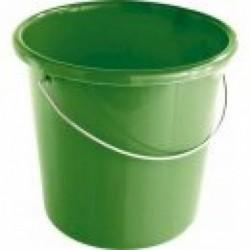 Kbelík na krmivo GEWA, se stupnicí, 5l, zelený