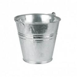 Vědro na vodu - kbelík pozinkovaný, 11 l