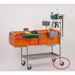 Kolečko bez brzdy k vozíku na ošetřování selat PROFI