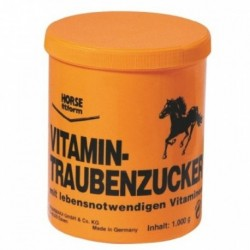 Cukr hroznový pro koně, obohacený vitamíny, 1 kg
