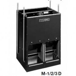 Automatické krmítko, samokrmítko pro prasata se zvlhčováním Domino SLOP FEEDER M-3D