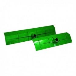 Stěrka na hnůj plastová, 55 cm