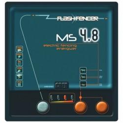 Zdroj síťový MS 4.8 pro elektrický ohradník, s kontrolou napětí