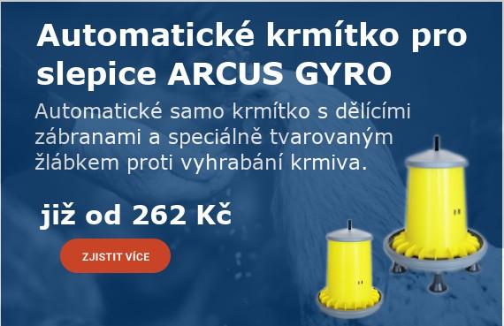 Automatické krmítka pro slepice ARCUS GYRO