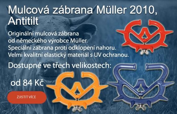 Mulcová zábrana Müller 2010